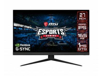 MSI Optix G273QF 27''C/2560x1440/1000:1/1ms/165Hz