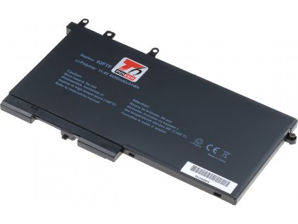 Baterie T6 power Dell Latitude 5280, 5290, 5480, 5490, 5580, 5590, 4450mAh, 51Wh, 3cell, Li-pol