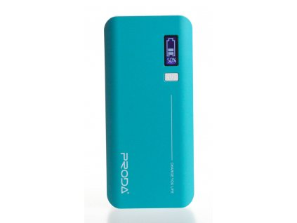 REMAX PowerBank Proda 20000 mAh, LED display, modrá farba EXCLUSIVE