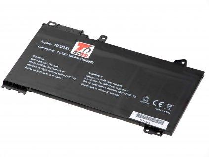Baterie T6 power HP ProBook 430 G6, 440 G6, 445 G6, 450 G6, 455 G6, 3900mAh, 45Wh, 3cell, Li-pol