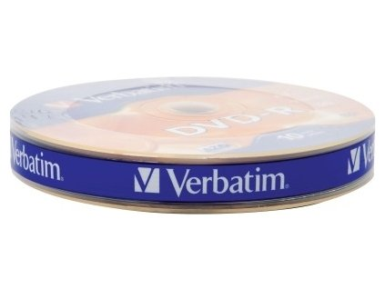 VERBATIM DVD-R 4,7 GB 16x 10-spindl RETAIL