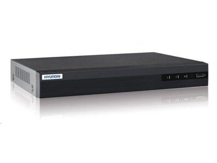 HYUNDAI NVR, 8 kanálů, 2x HDD(až 8TB), 4K UHD, 8xPoE, 2xUSB, 1xHDMI a 1xVGA, 4xDI,1xDO, audio in/out