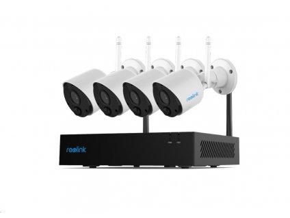 REOLINK bezpečnostní kamerový systém RLK4-211WB4-S, 2.4 GHz