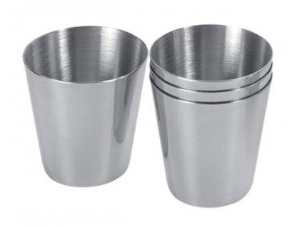 Ante 709561 Nerezové poháriky v puzdre 4 x 30 ml (2)