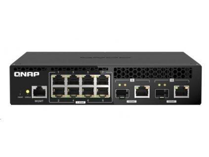 QNAP QSW-M2108R-2C (8x2,5GbE,2x10GbE RJ45/SFP+)