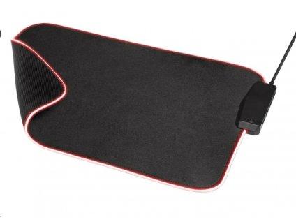 TRUST podložka pod myš GXT 765 Glide-Flex RGB Mouse Pad with USB Hub