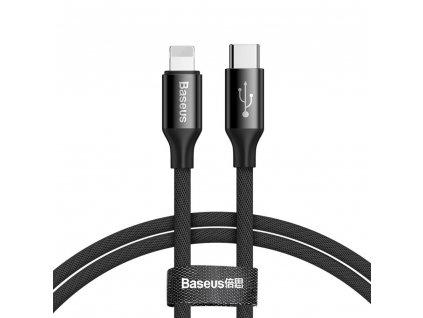 Baseus Yiven Series nabíjecí / datový kabel USB-C na Lightning 2A 2m, černá