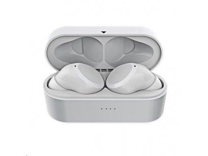 Celly BT sluchátka Twins Mini, NFC, bílá