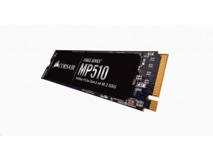 CORSAIR SSD 960GB Force MP510 (R:3480, W:3000 MB/s), M.2 2280 NVMe PCIe, černá