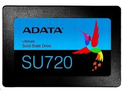 """ADATA SSD 500GB Ultimate SU720SS 2,5"""" SATA III 6Gb/s (R:520/ W:450MB/s) 3D NAND"""