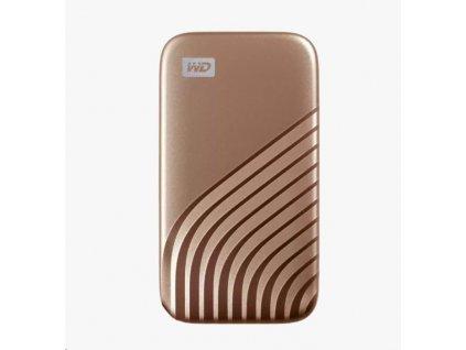 SanDisk WD My Passport SSD externí 2TB , USB-C 3.2 ,1050/1000MB/s R/W PC & Mac ,GOLD