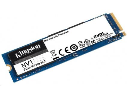 Kingston SSD 500GB NV1 M.2 2280 NVMe™ PCIe Gen (R 2100MB/s; W 1700MB/s)
