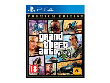 GTA V PREMIUM EDITION hra PS4
