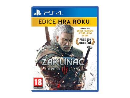 Zaklínač 3:Divoky Hon-EDICE HRA ROKU PS4