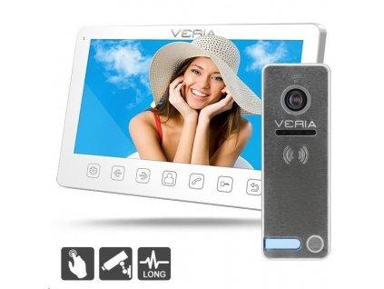 SET Videotelefon VERIA 7070B bílý + VERIA 230
