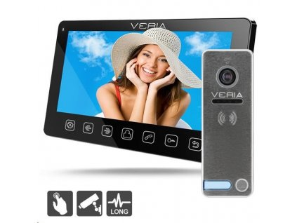 SET Videotelefon VERIA 7070C černý + VERIA 230