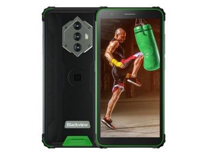iGET Blackview GBV6600 Green odolný telefon, 5,7'' HD+ IPS, 4GB+64GB, DualSIM, 4G, 8580 mAh, NFC
