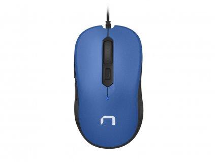 NATEC optická myš DRAKE 3200 DPI, černo-modrá