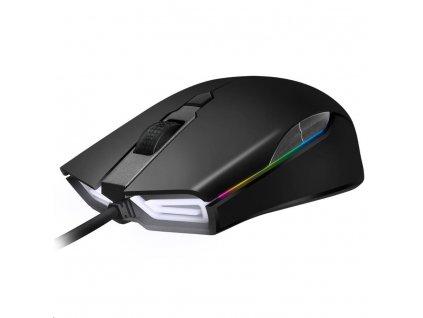 ABKONCORE Herní myš A900 3389, optická, USB, černá