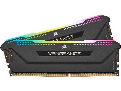 CORSAIR Vengeance RGB PRO SL black 16GB, DDR4, DIMM, 3600Mhz, 2x8GB, XMP, CL18