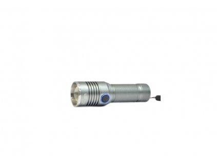 Police Nabíjacia baterka malá Bright silver, usb (1)