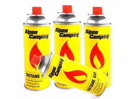 Alpen Camping Kartuša plynová Gas 400 ml (3)
