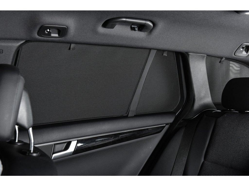 Protisluneční clony Mitsubishi Lancer hatchback 5dv. (2008-) - komplet sada: 6 ks