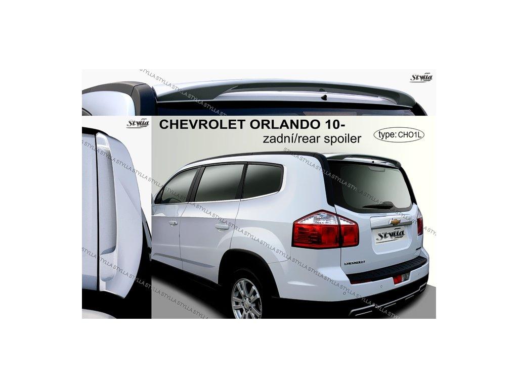 Zadni Spoiler Chevrolet Orlando Mpv 02 2011 Tuningshop Cz
