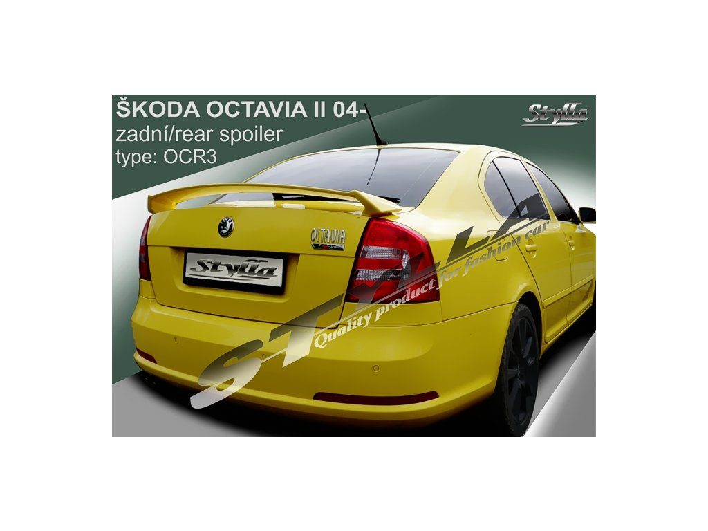 Zadní spoiler Škoda Octavia liftback 02 / 2004 – RS II