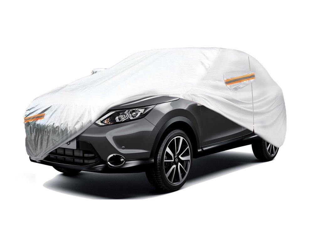 Autoplachta, plachta na SUV / VAN - velikost XL 510x185x150 stříbrná