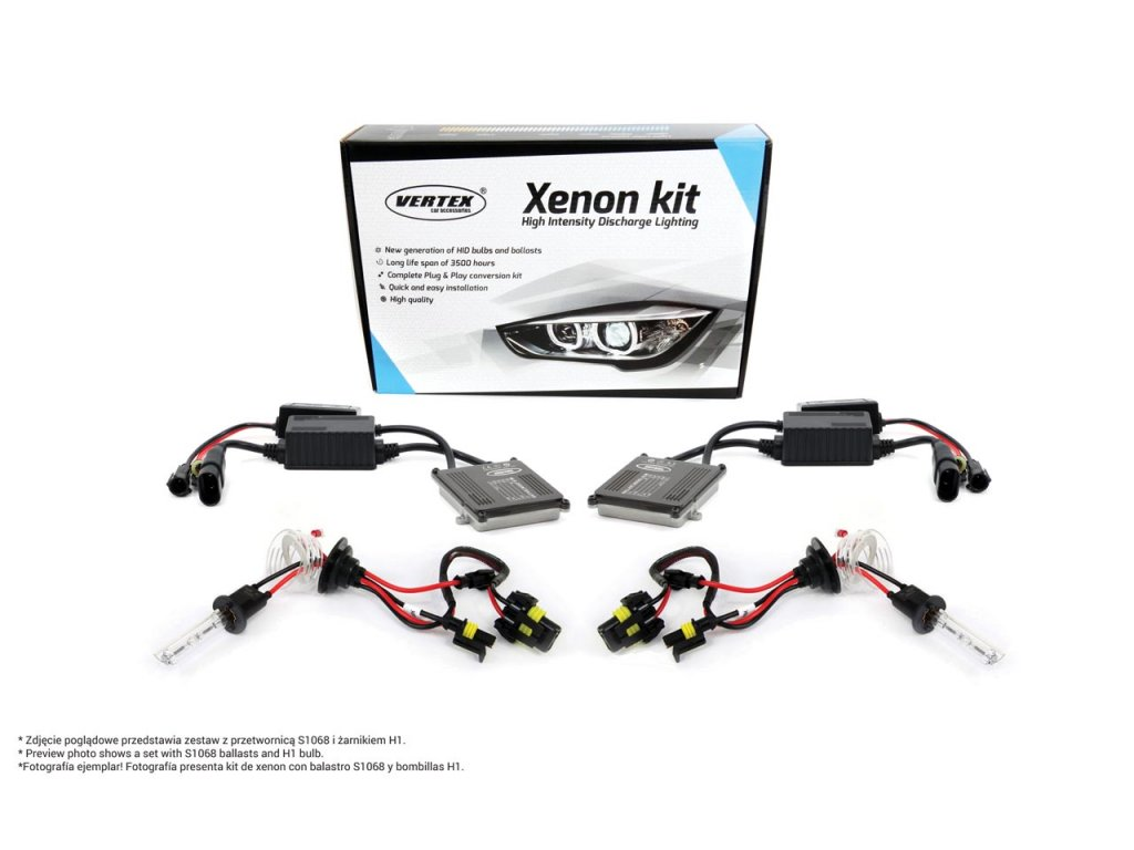 Xenon HID kit S1068 CANBUS H7 8000K