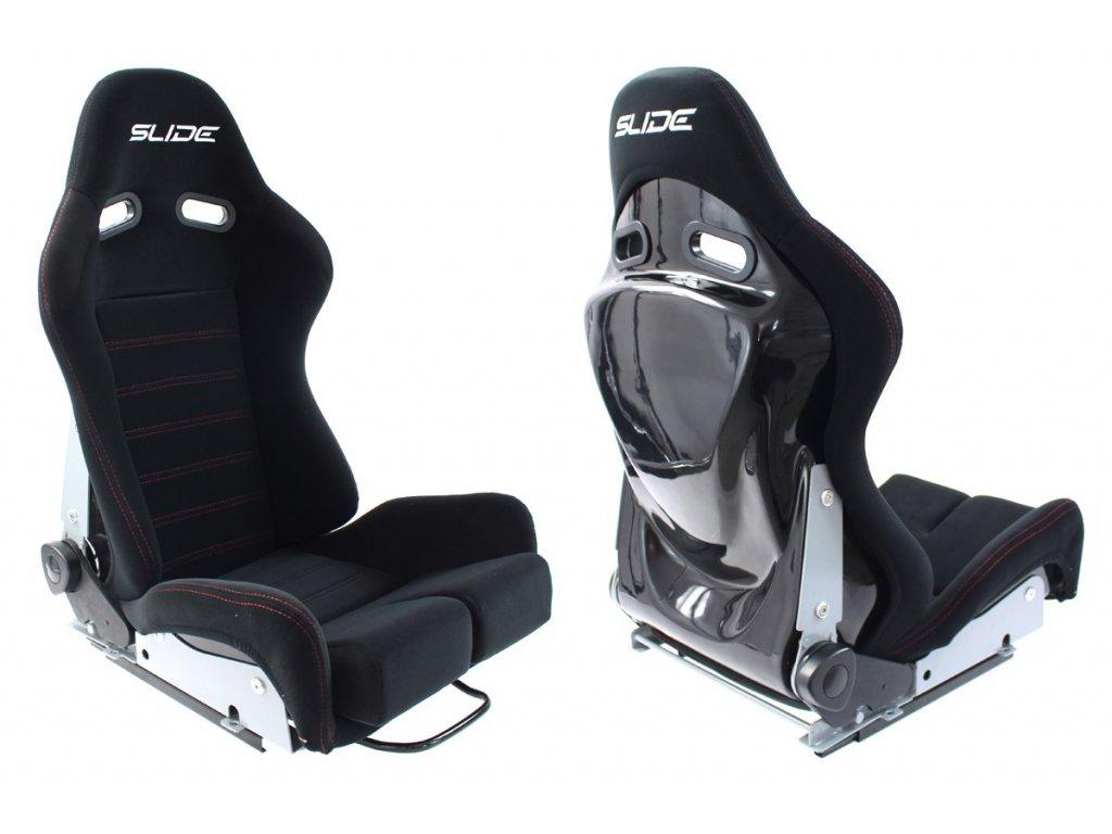 Sportovní sedačka SLIDE X3 černá L