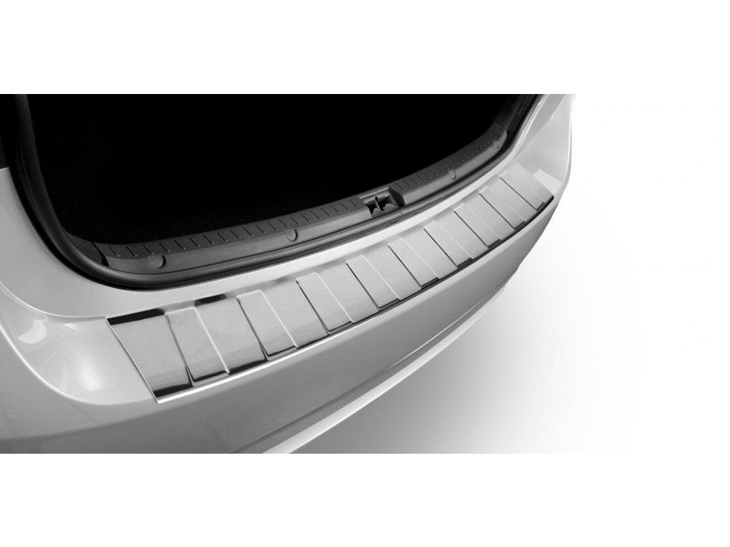 Kryt prahu pátých dveří Honda CRV 5dv. suv 2014-2017 - nerez Trapez CRONI