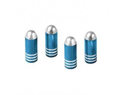 Čepičky ventilků Bullet - modré