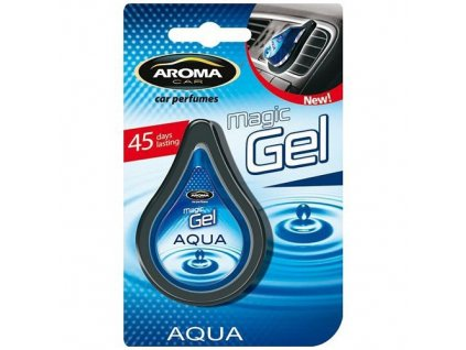 Osvěžovač vzduchu CAR MAGIC GEL aqua
