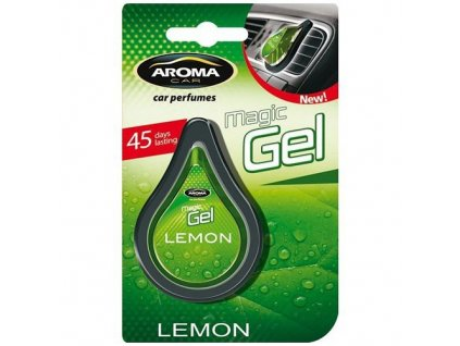 Osvěžovač vzduchu CAR MAGIC GEL lemon
