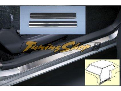 Prahové lišty Honda Jazz  5D 01R Výprodej !!!