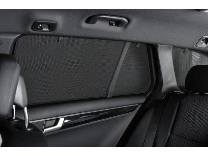 Protisluneční clony Alfa Romeo 147 hatchback 3dv. (2005-2011) - komplet sada: 4 ks