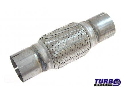 Pružný díl, pletenec - vlnovec výfuku, průměr 50 mm, délka 255 mm