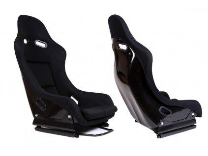 Fotel sportowy GTR Welur Black [95453] 1200[1]