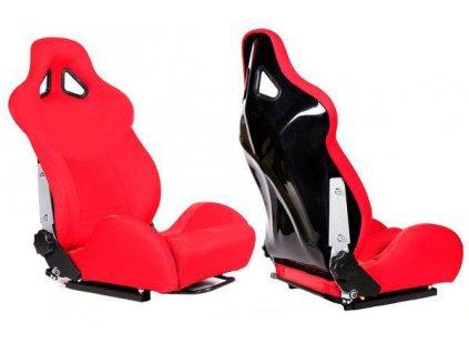 Sportovní sedačka TURISMO RED