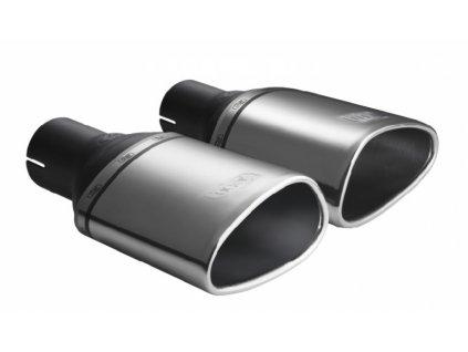 ULTER SPORT Koncovka výfuku 1x160x80 mm, levá N1-48L*