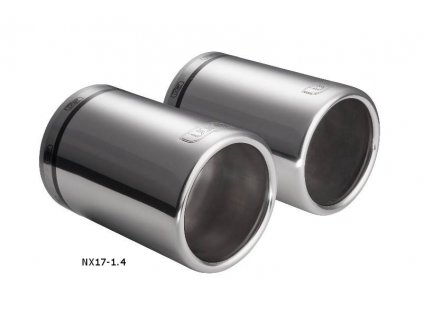 ULTER SPORT Koncovka výfuku SUBARU FORESTER III 08-13, 2x 1x100mm NX17-1.4