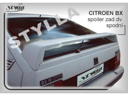 Zadní spoiler Citroen BX hatchback 10 / 1982 –