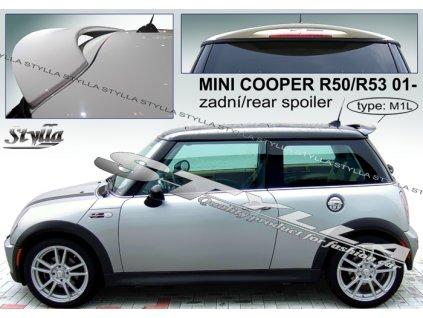 Zadní spoiler Mini Cooper R50, R53 hatchback 06 / 2001 –