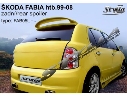 Zadní spoiler Škoda Fabia combi 04 / 2000 –