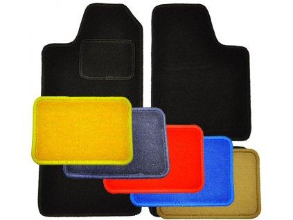 Textilní autokoberce Seat Alhambra 2 řada + kufr 2 díly 1996 -> - Colorfit