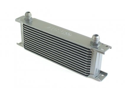 Chladič oleje TurboWorks 13-řádků 260x100x50 AN10 stříbrný