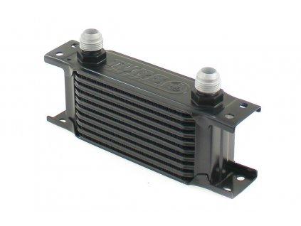Chladič oleje TurboWorks Slim Line 10-řádků 140x75x50 AN10 black