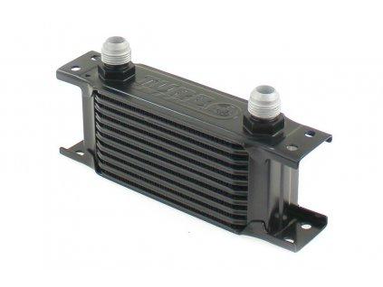 Chladič oleje TurboWorks Slim Line 10-řádků 140x75x50 AN8 black